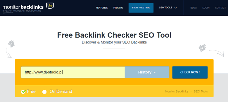 monitorbacklinks